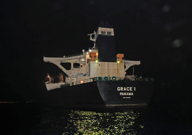 El buque petrolero Grace 1 con el crudo iraní detenido en Gibraltar
