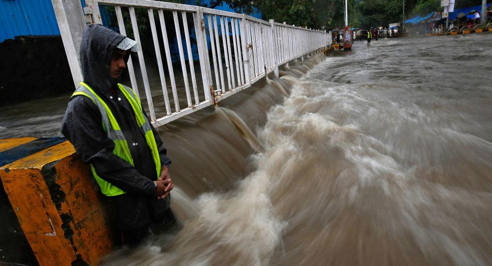 Las inundaciones en la India