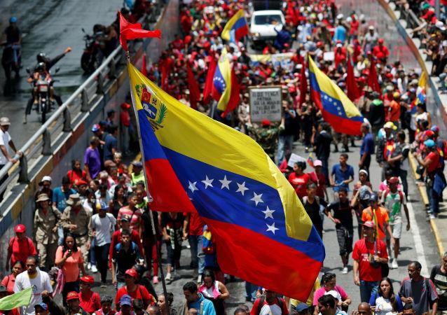 Manifestaciones contra el informe de Bachelet