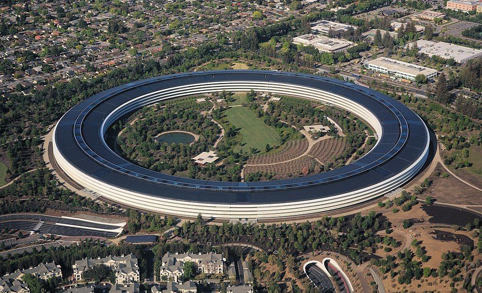 Las oficinas de Apple en Cupertino