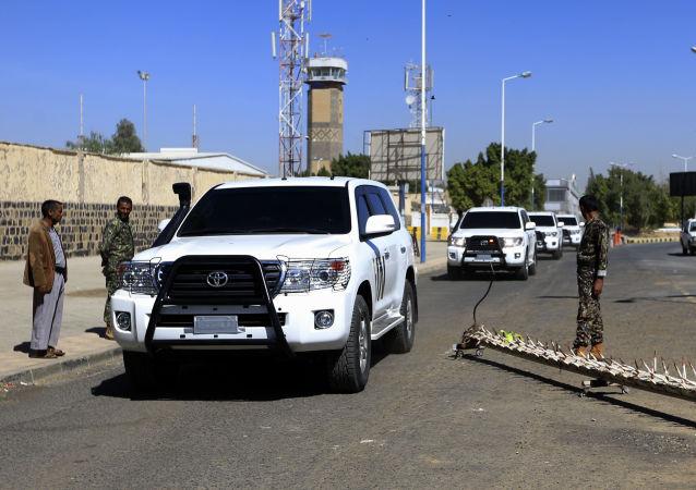 Convoy de la ONU en Yemen