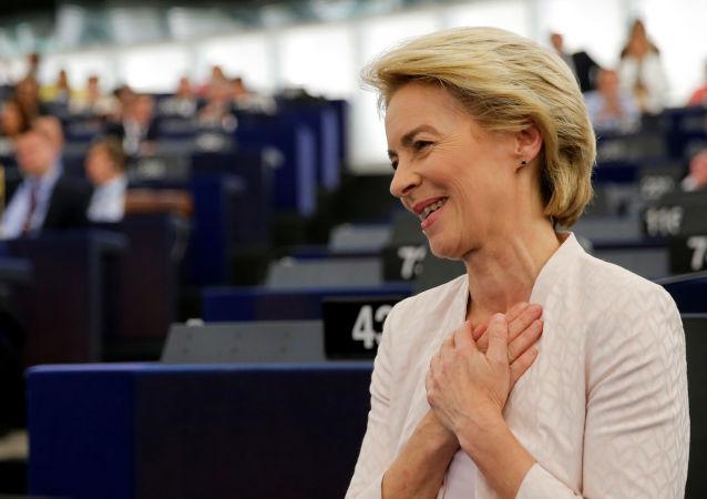 Ursula von der Leyen, presidenta electa de la Comisión Europea.