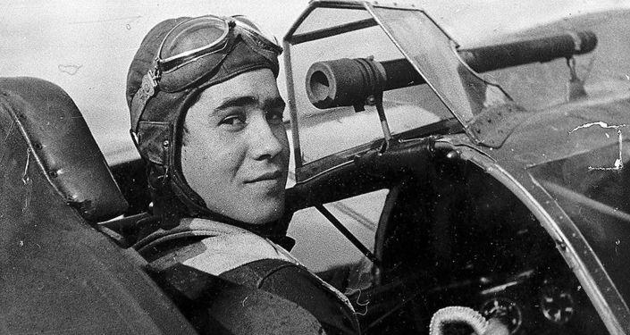 Un aviador de las Fuerzas Aéreas de la República Española (archivo)