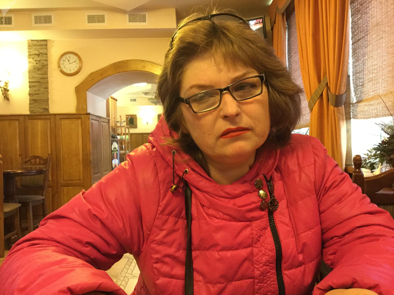 Tatiana Ganzha, sobreviviente de una cárcel ucraniana clandestina