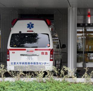 Ambulancia japonesa (archivo)