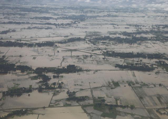 Inundación en Nepal