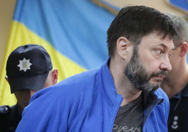 Kiril Vishinski, el jefe del portal RIA Novosti Ukraina (archivo)