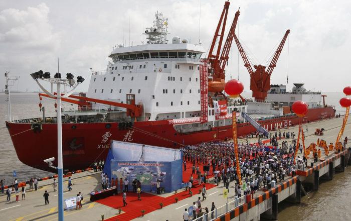 """China, a punto de desarrollar el rompehielos """"del siglo XXII"""""""