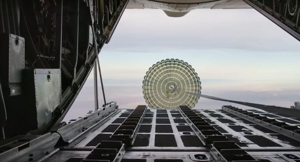 Pruebas de paracaídas de SpaceX