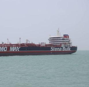 El buque Stena Impero