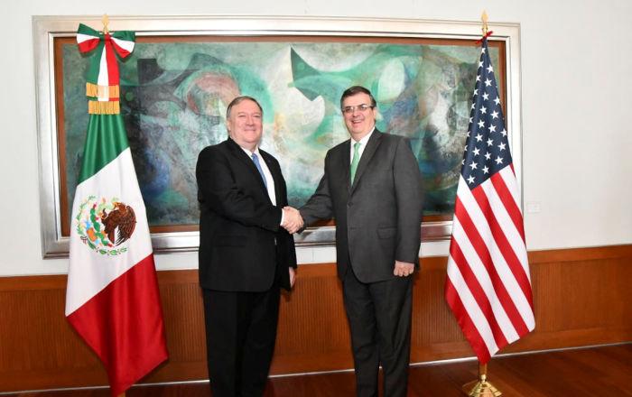 México destaca resultados positivos de la visita del secretario de Estado de EEUU