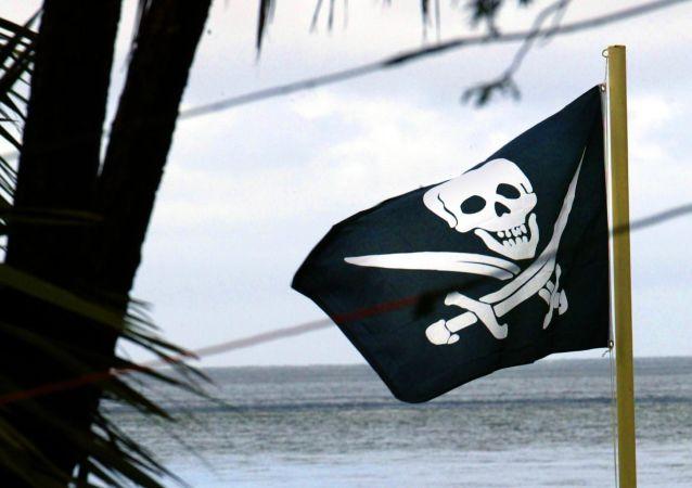 Una bandera pirata (imagen referencial)