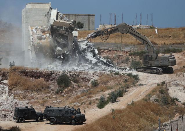 La demolición de viviendas palestinas en Cisjordania