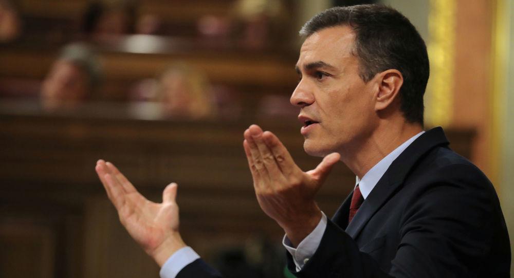 Pedro Sánchez, líder del Partido Socialista Obrero Español (PSOE) y candidato a la presidencia del Gobierno
