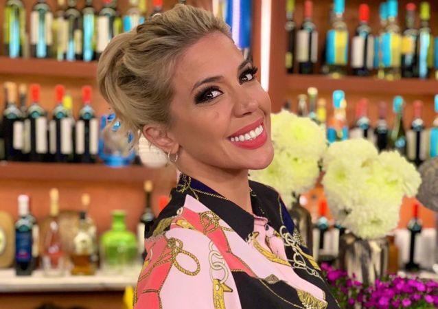 Virginia Gallardo, presentadora y bailarina argentina