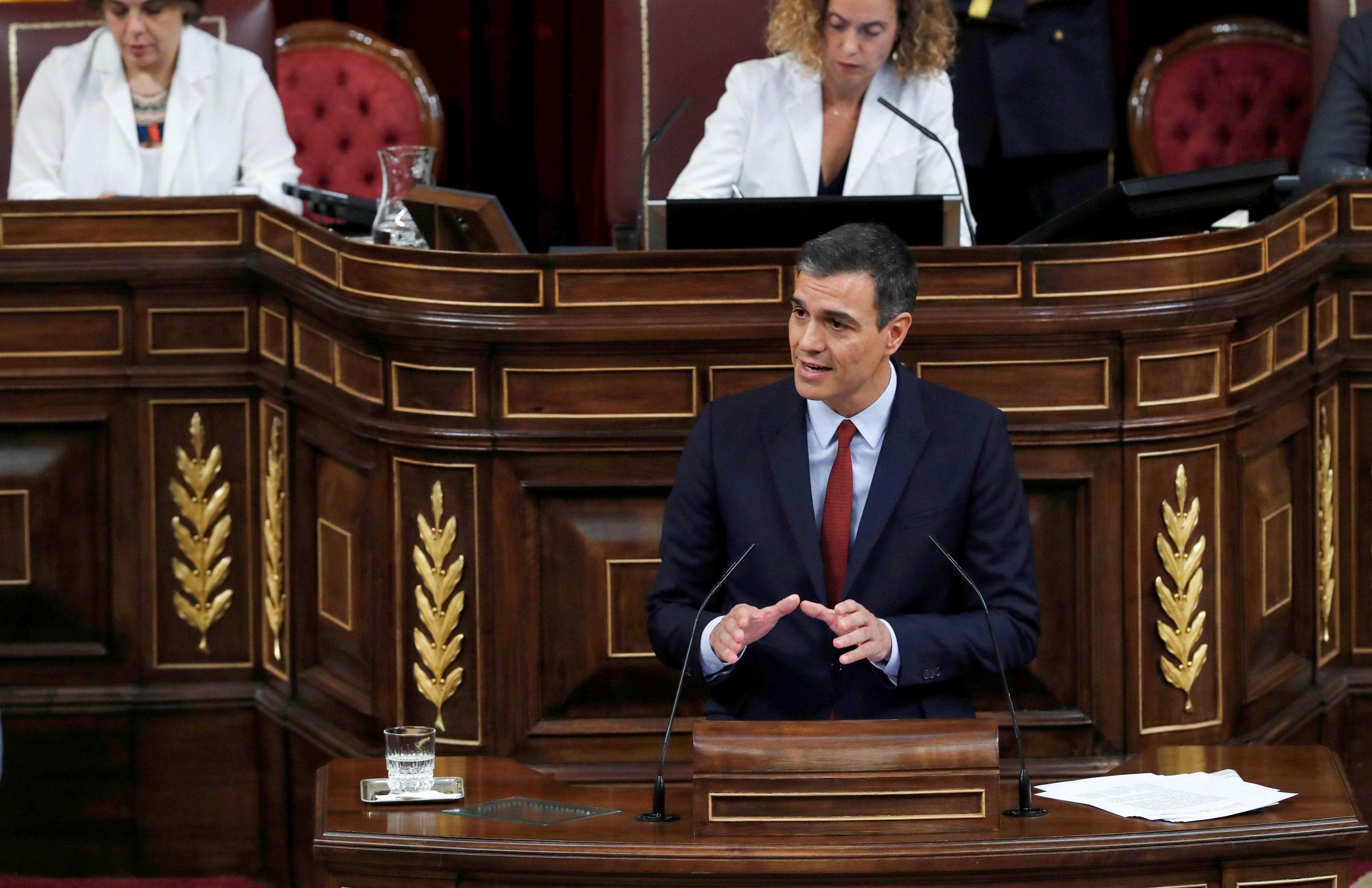 Pedro Sánchez, líder del Partido Socialista Obrero Español (PSOE)
