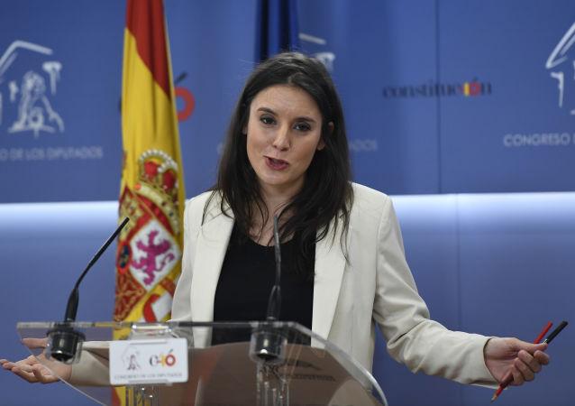 Irene Montero, portavoz del grupo parlamentario Unidas Podemos
