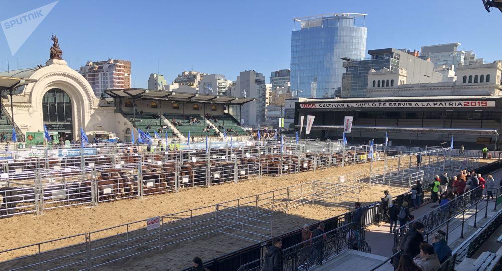 Predio de la Exposición Rural de Buenos Aires de 2019