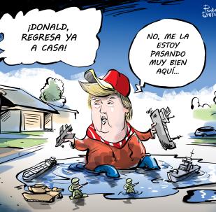 El peligroso juego de EEUU en el estrecho de Ormuz