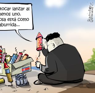 ¡Solo uno! Kim no para de 'jugar' con sus misiles balísticos