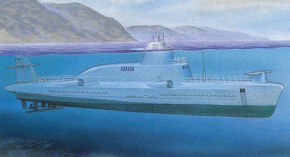 Delfin, navio do Projeto 1231