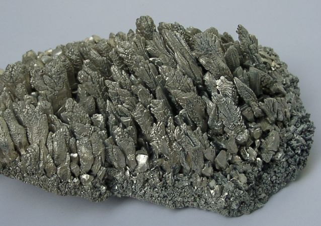 Cristales de magnesio (imagen referencial)
