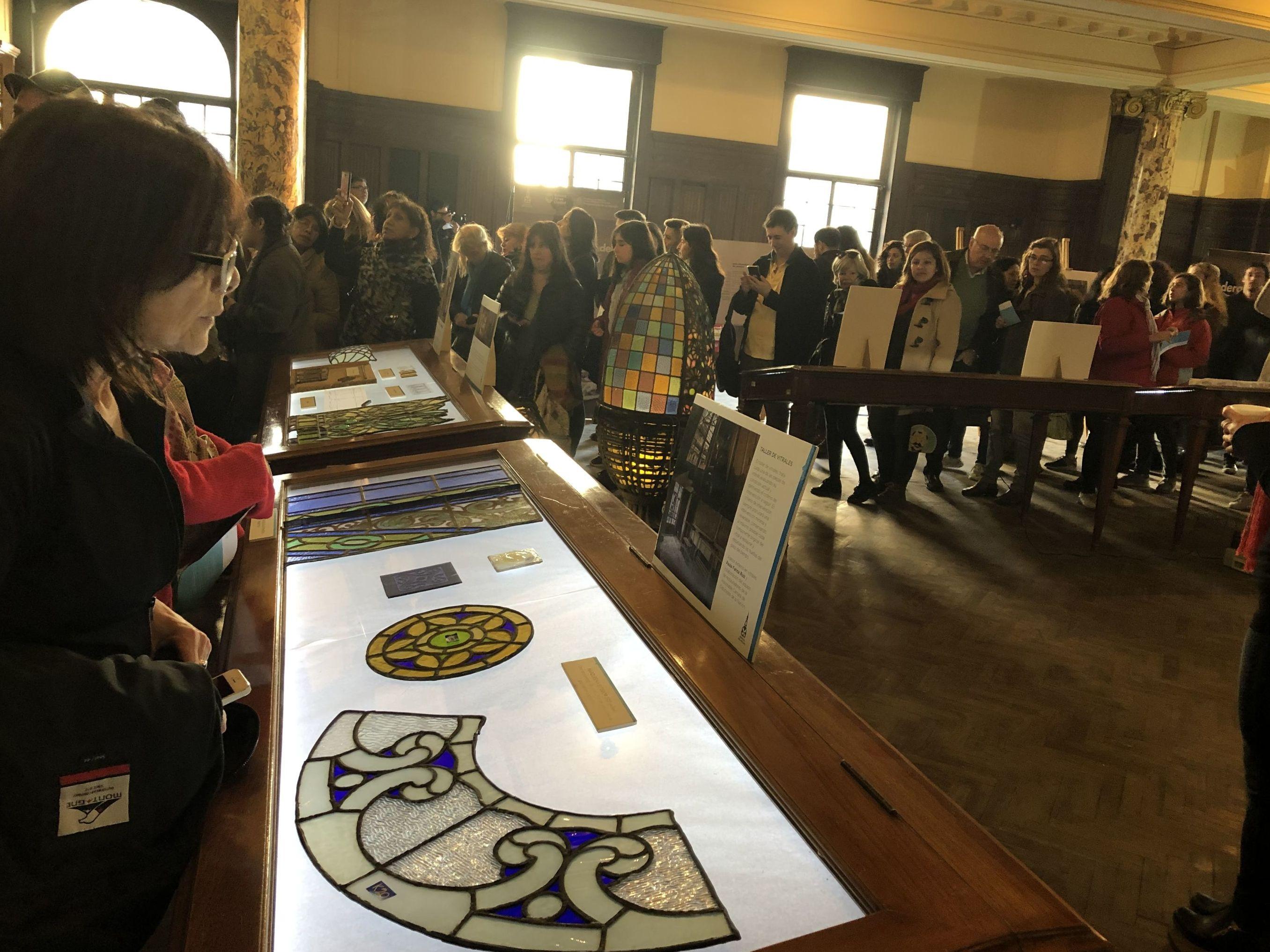 Miles de personas se acercaron al interior de la Confitería del Molino para conocer sobre el trabajo de restauración