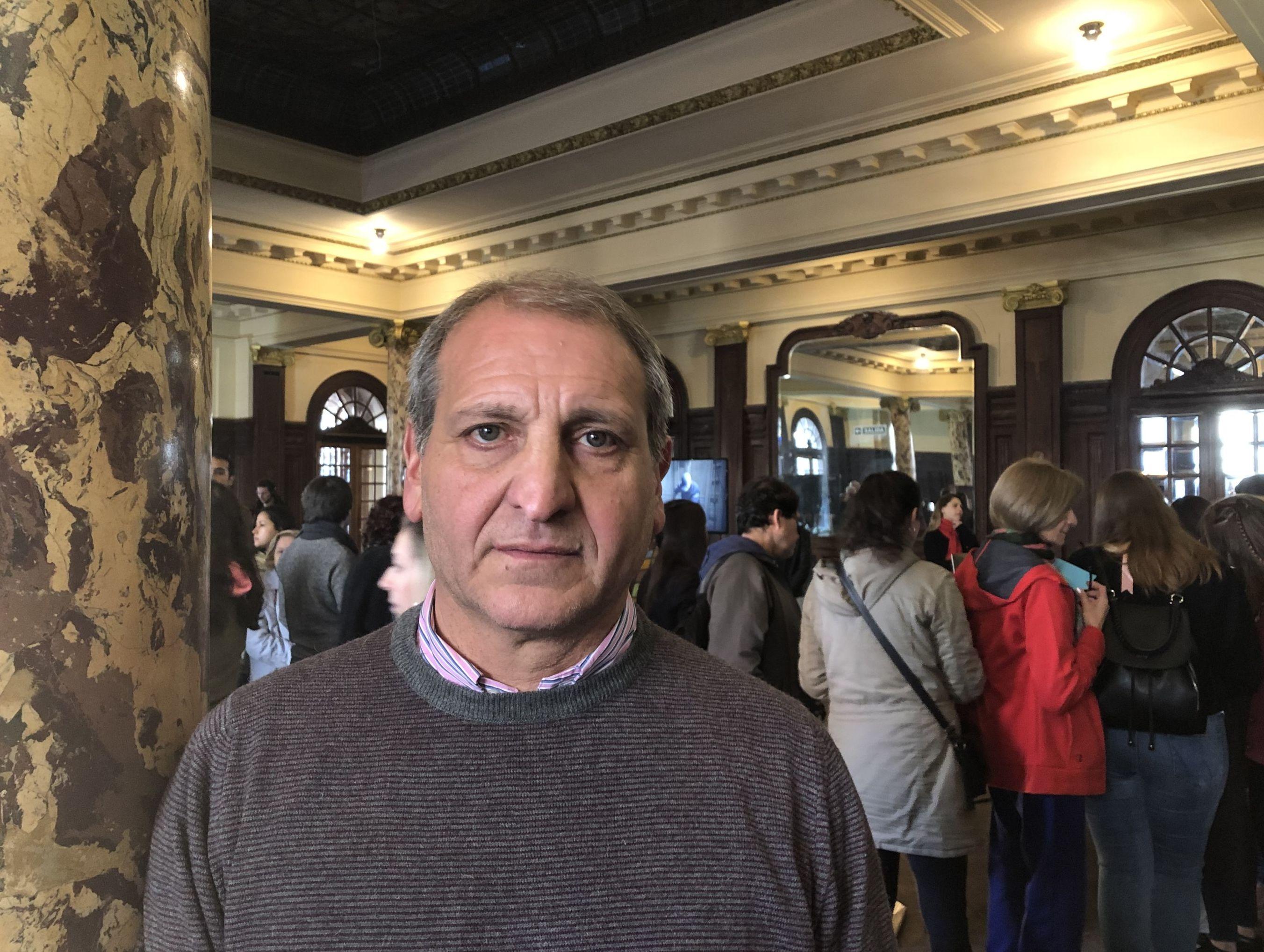 Ricardo Angelucci, secretario técnico administrativo de la Confitería