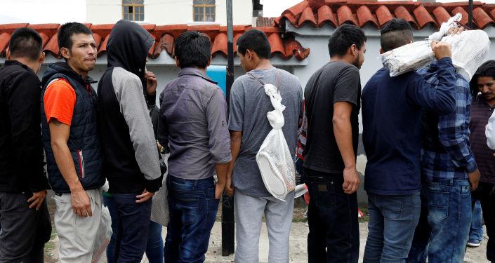 Los migrantes deportados por EEUU en Guatemala