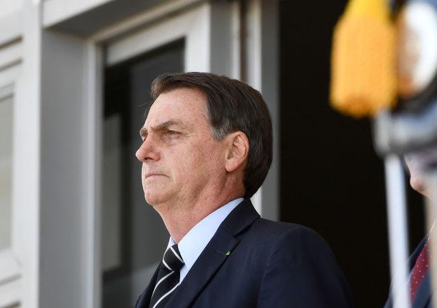El presidente brasileño, Jair Bolsonaro (archivo)