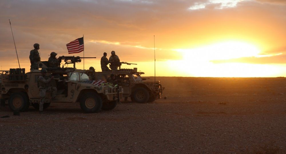 Militares de EEUU en Al Tanaf, Siria