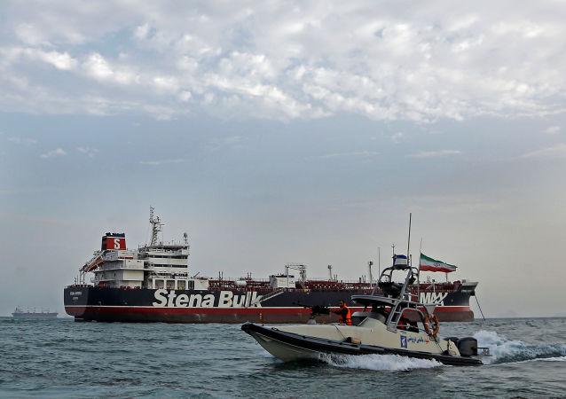 petrolero británico Stena Impero