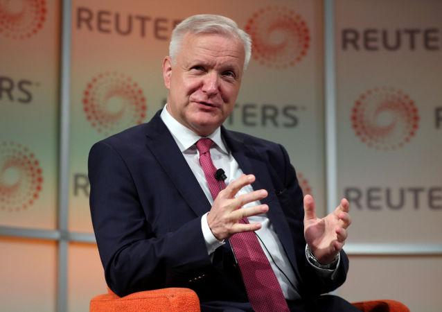 Olli Rehn, gobernador del Banco finlandés