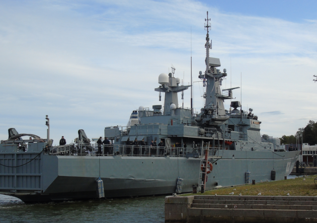 El buque finlandés Hameenmaa en una imagen de archivo