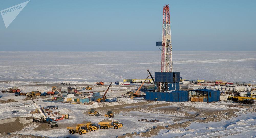 Extracción de petróleo en el Ártico