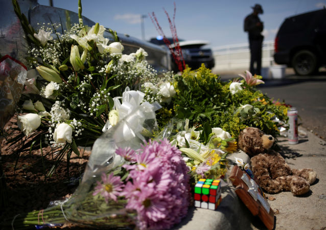 El lugar del tiroteo en El Paso