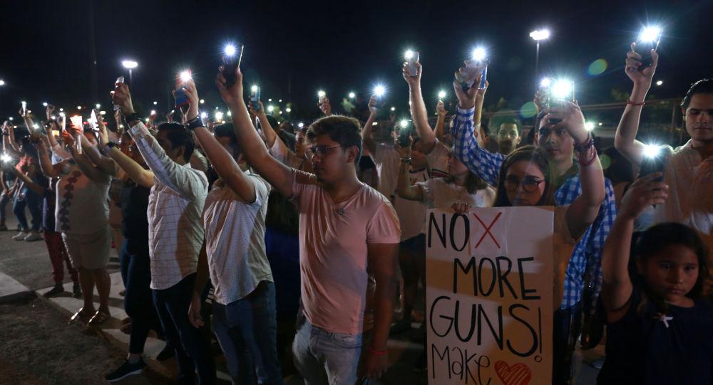 Ceremonia de luto tras masacre en El Paso (EEUU) en Ciudad Juarez (México)