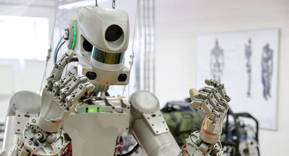 Robot Fedor ruso que viajó al espacio