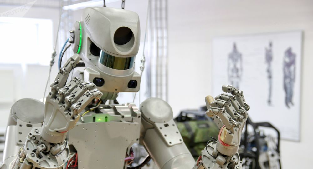 Resultado de imagen para robot Fedor