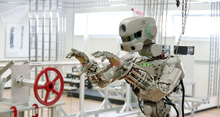 Las pruebas del robot Fedor dentro del proyecto Salvador