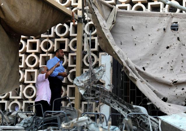 Explosión en El Cairo