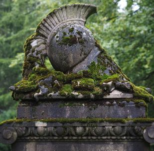 Una tumba, referencial