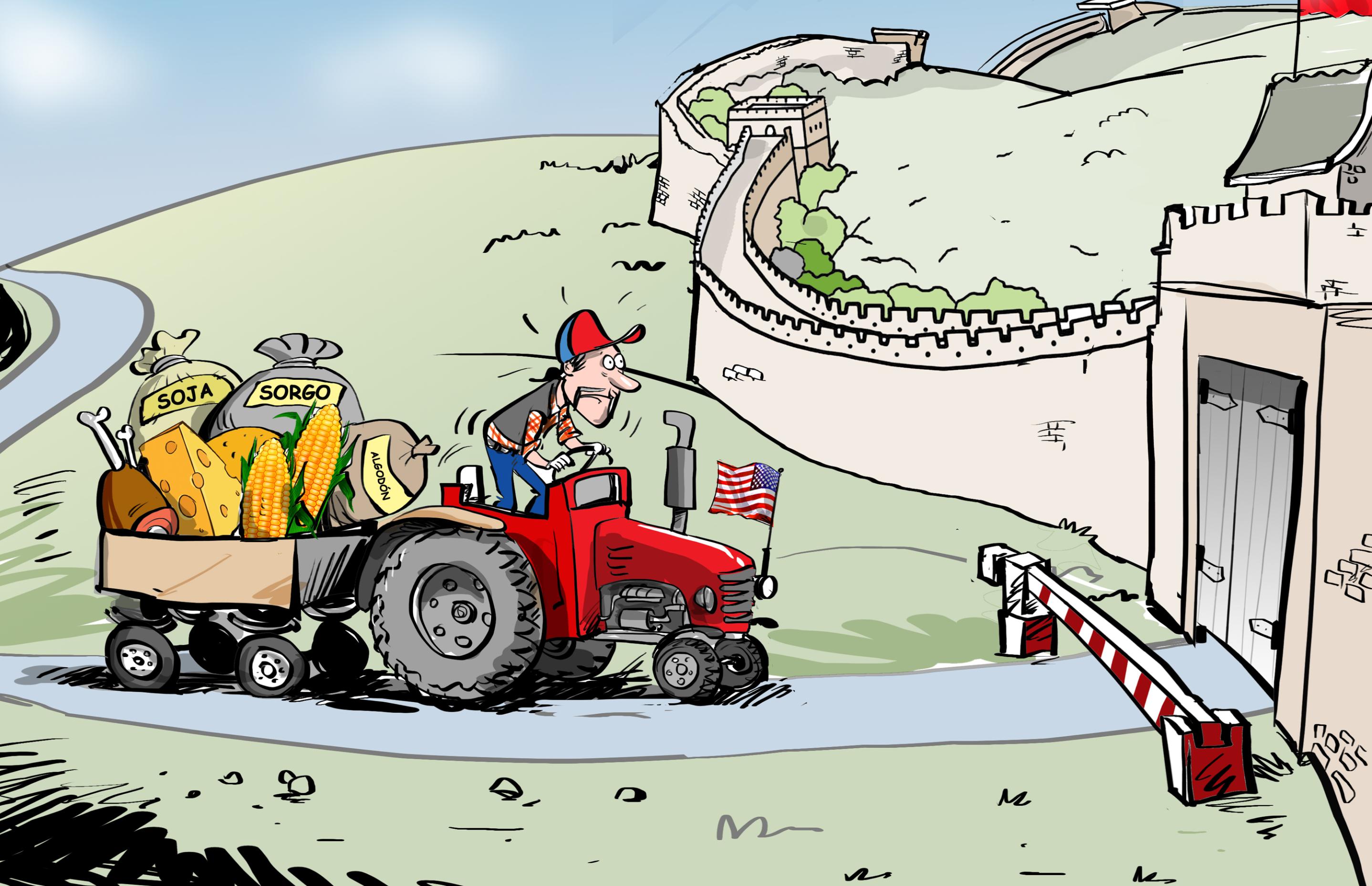 China levanta una muralla contra los productos agrícolas de EEUU