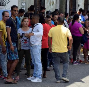 Migrantes centroamericanos en Tapachula, México