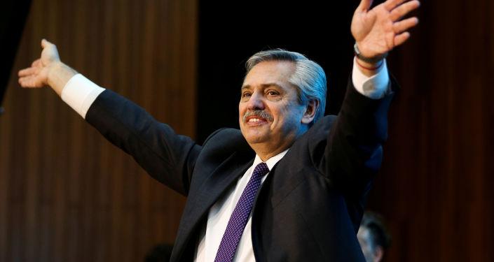 Alberto Fernández, candidato a la presidencia de Argentina por el Frente de Todos (archivo)