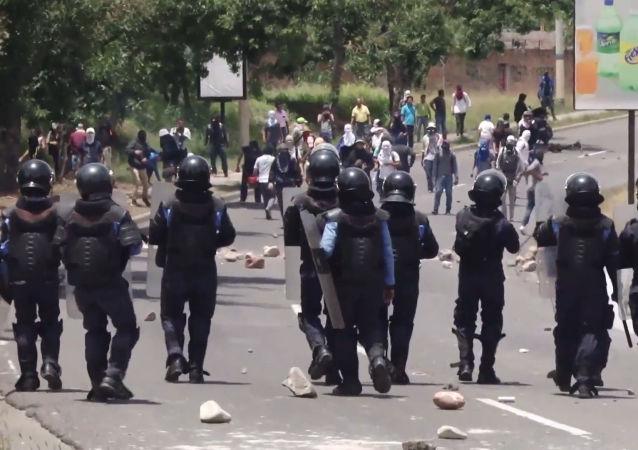Enfrentamientos en Honduras en medio de la creciente ira contra el presidente