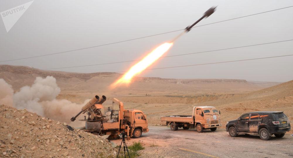 El Ejército sirio ataca las posiciones de los terroristas (archivo)