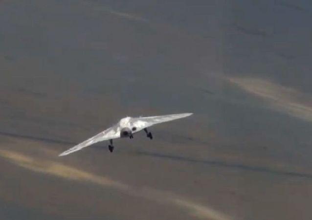 El primer vuelo del dron Ojotnik