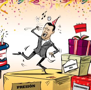 La fiesta de Juan Guaidó