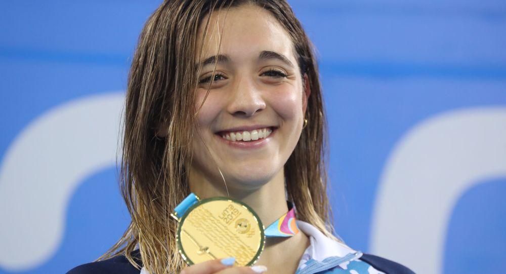 Los Juegos Panamericanos tuvieron su cierre con Delfina Pignatiello como abanderada
